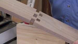 Creating a Wooden Hinge for a Gate Leg Table