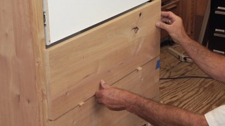 DIY Dresser: Attaching Drawer Fronts