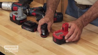 Using Lithium Ion Batteries in Woodworking Tools