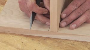 Using Hand Tools to Cut a Dado - Part 1