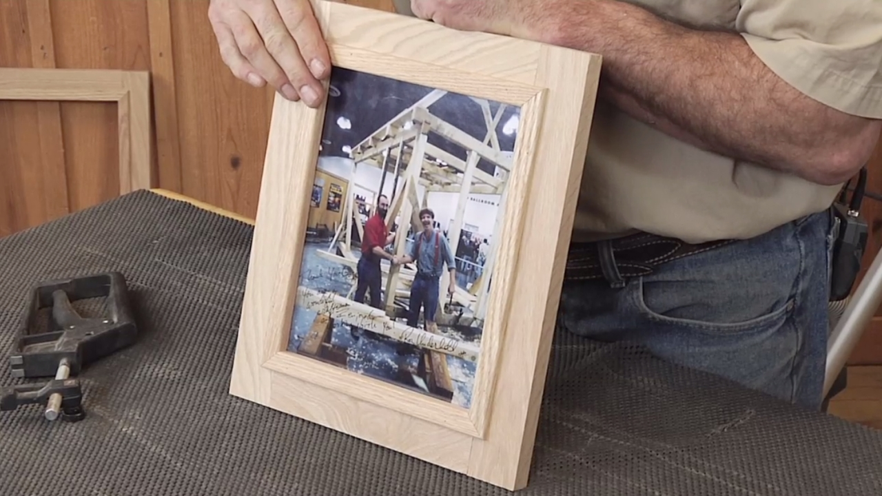 Easy to make wooden picture frame jeuxipadfo Image collections