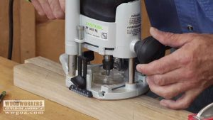 Routed Mortise & Tenon