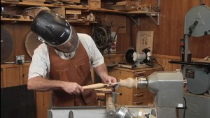 How to Hollow Wood After a Turning