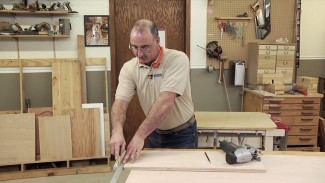 Reduce Chipping When Crosscutting Plywood