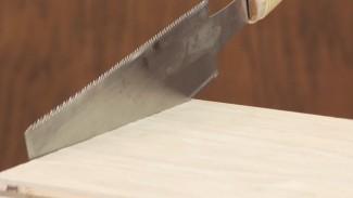 Hand Cut Edge Banding to Length