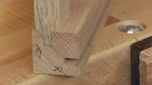 Fitting Mortise and Tenon Joints