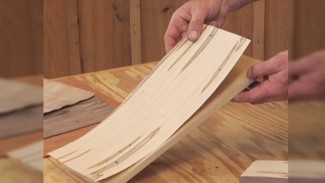 Applying Veneer with a Vacuum Bag