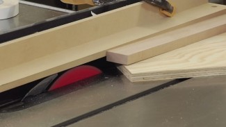 Tapered Cuts on the Table Saw: Pattern Cutting