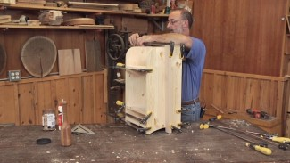 DIY Drill Stand & Cordless Drill Charging Station