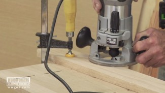 The Importance of Making Downhill Cuts with a Router