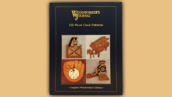 BOOK - 125 Wood Clock Patterns