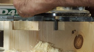 Climb Cutting on a Dovetail Jig