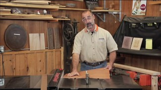 Cutting Laminate on a Table Saw