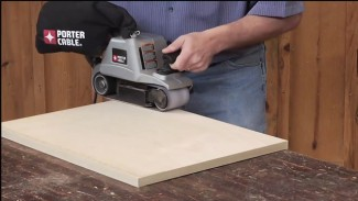 Leveling Edge Banding With A Belt Sander