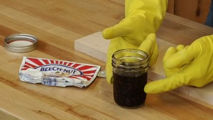 Make Stains From Chewing Tobacco