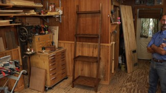 ladder shelf plans