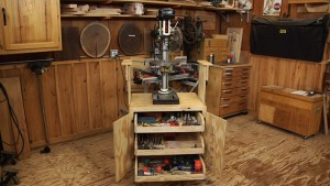 Shop Cabinet for Benchtop Tools