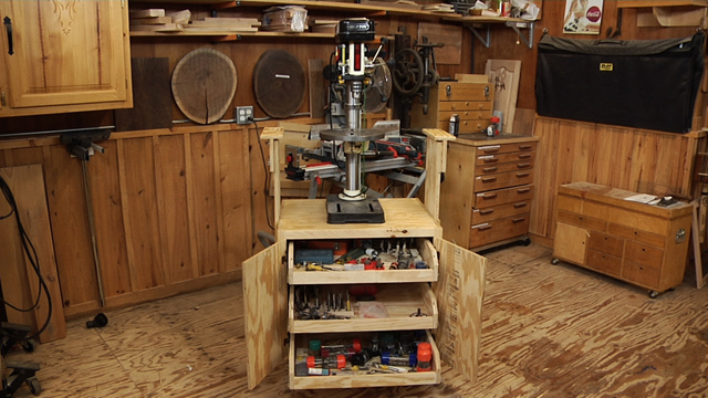 Build A Shop Cabinet For Benchtop Tools
