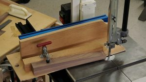 Tapering Furniture Legs on a Band Saw