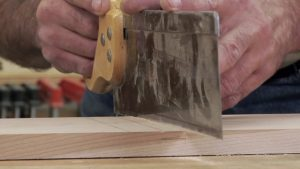 Using Hand Tools to Cut a Dado - Part 2