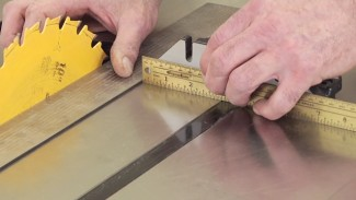 How to Check Parallelism of a Table Saw