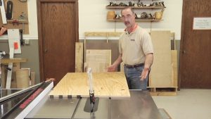 Table Saw Tips - Handling Large Pieces