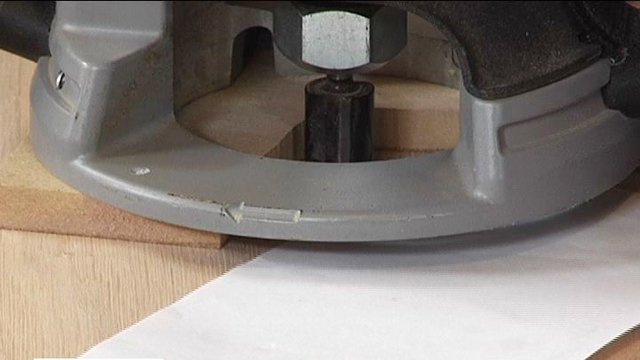 Learn how to trim edge bands with a router