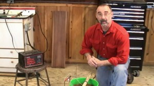 Removing Rust with Electrolysis