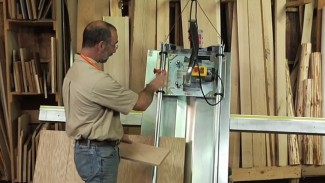 Using a Vertical Panel Saw (Panel Pro)