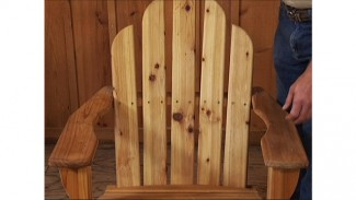 Comfortable Adirondack Chair Plans