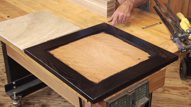 Build A Butt Joint Table Top Frame For Ceramic Tile Or