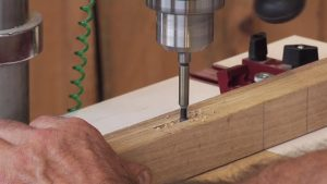 Making Mortises on the Drill Press