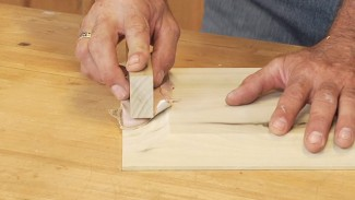 Using a Flush Trim Bit to Make a Glass Panel Door