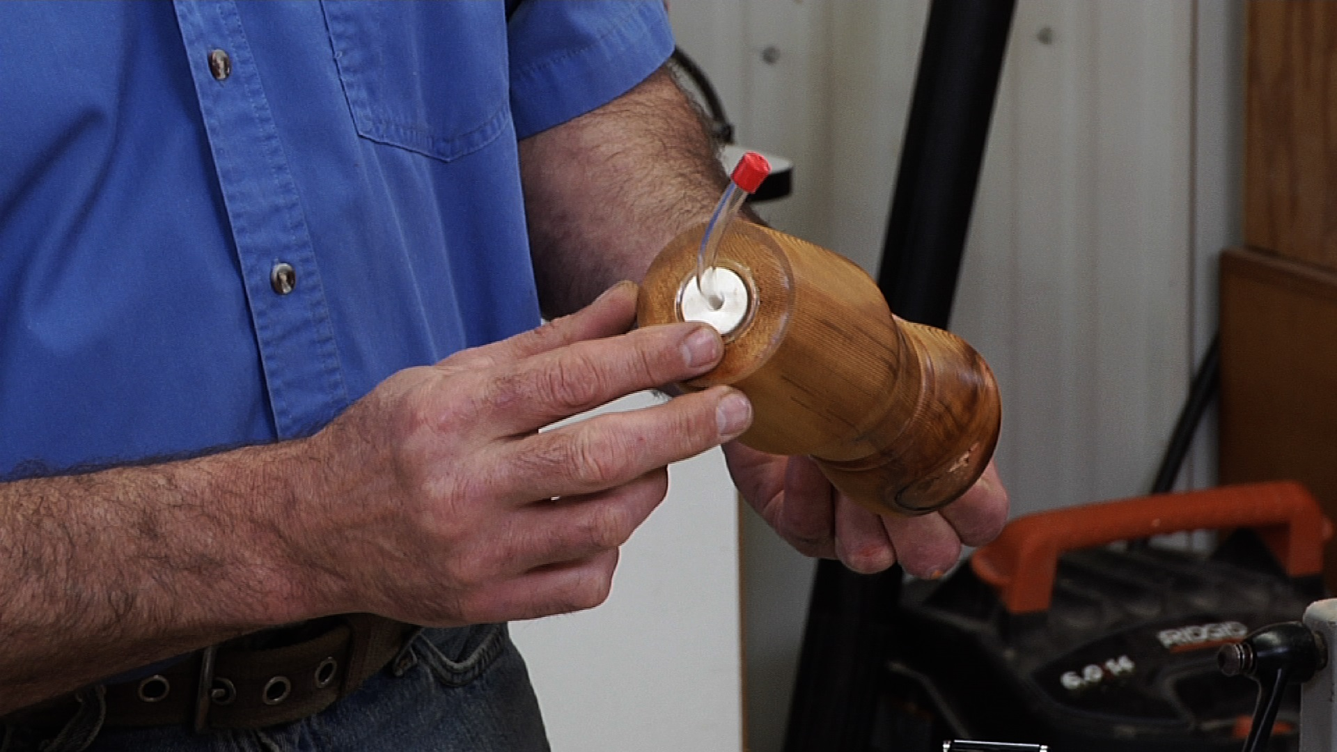 Woodturning Video to Show you How to Turn a Hummingbird Feeder