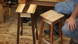 How to Build a Stylish Stool