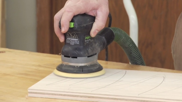 Learn How to Sand Wood with Markings