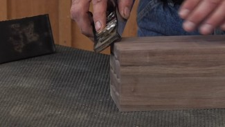 Chamfering with a Hand Plane