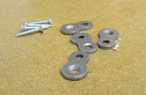 FIGURE-EIGHT TABLE-TOP FASTENERS
