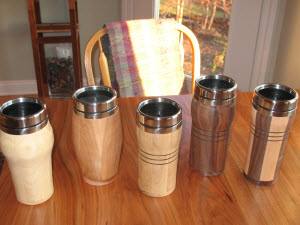 How to Make a Wooden Mug | DIY Lathe Woodworking Projects