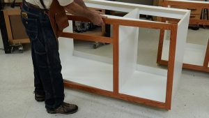 How to Build Cabinets - Finishing a Face Frame