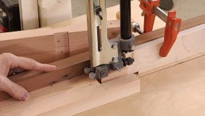 Finish a Bridal Joint on Tom's Band Saw Fence