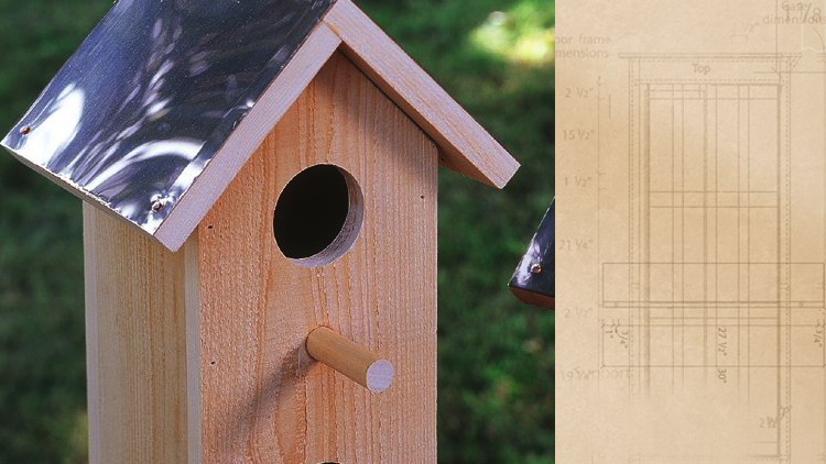 Diy Cedar Birdhouse Plans How To Build A Cedar Birdhouse