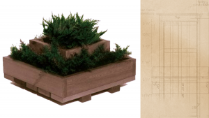 Tiered Planter  no callout