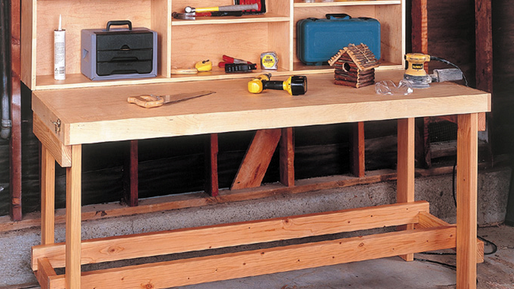 Garage Tool Table