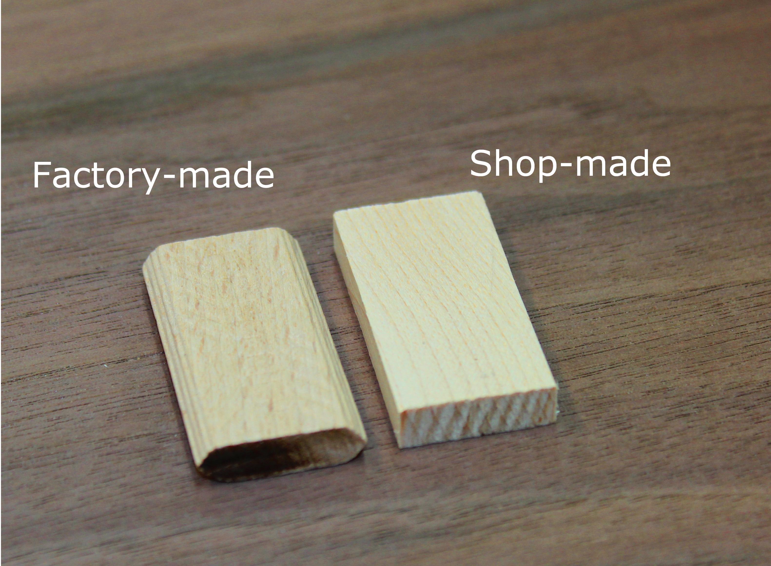 homemade domino tenon