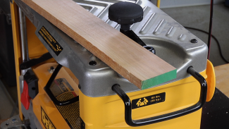 Planer Snipe and Preventative Solutions | WWGOA