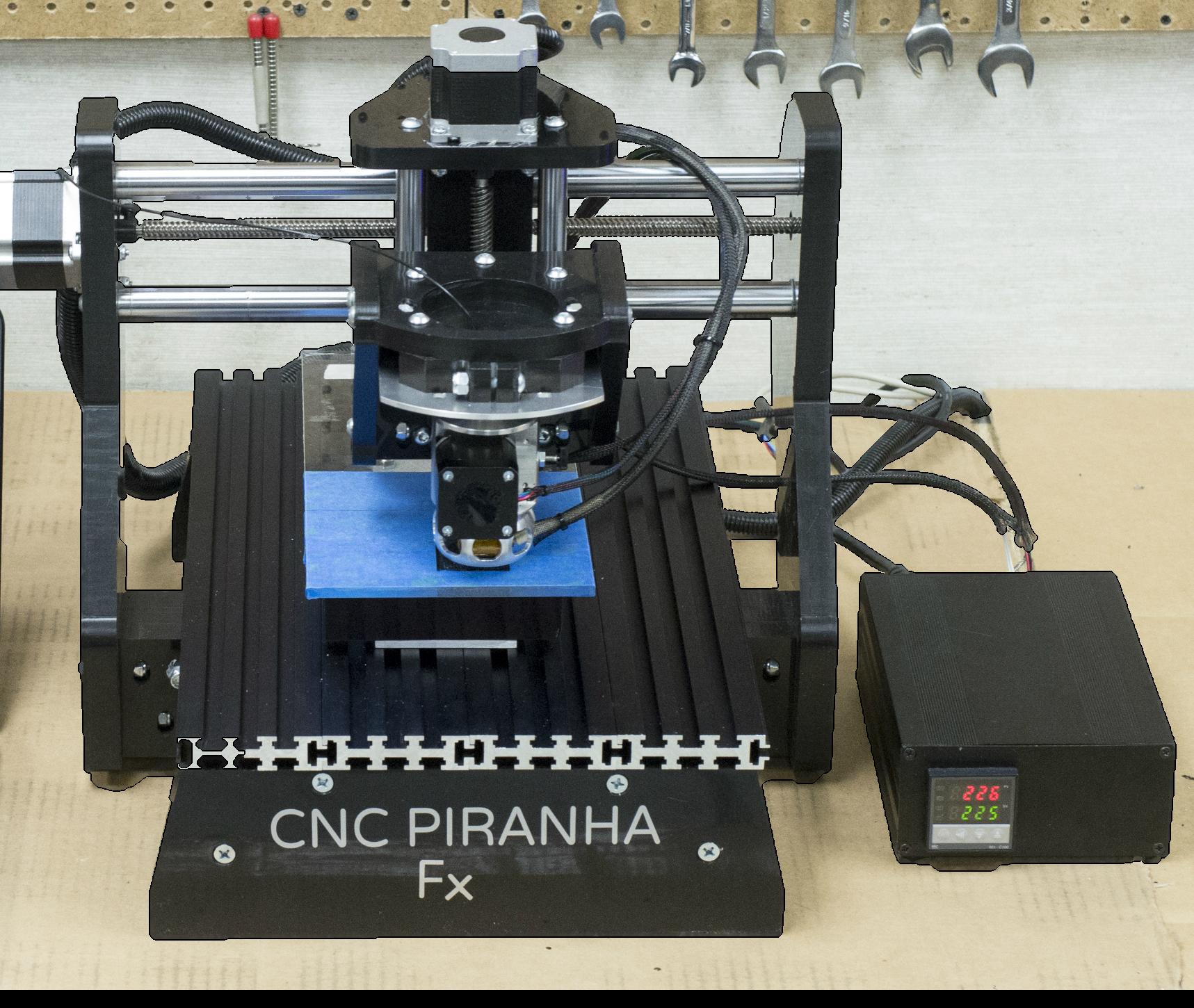 AWFS 2015: Piranha FX 3D