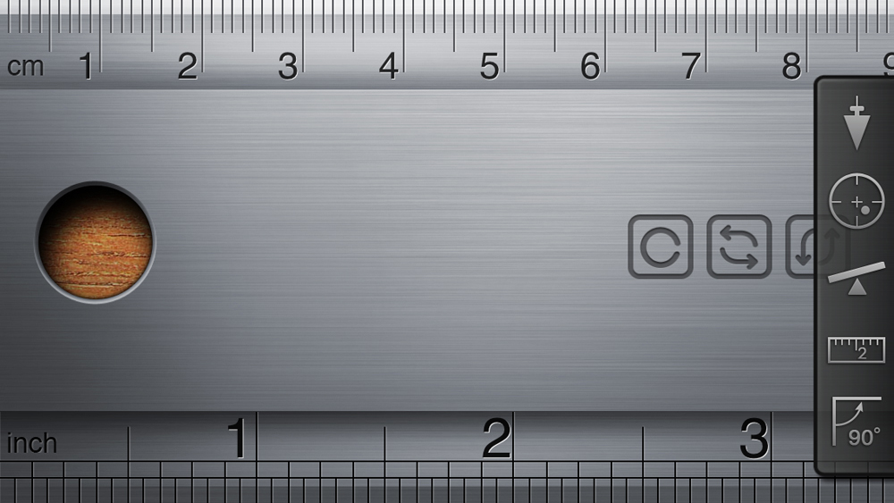 Woodworking App; iHandy Carpenter Ruler