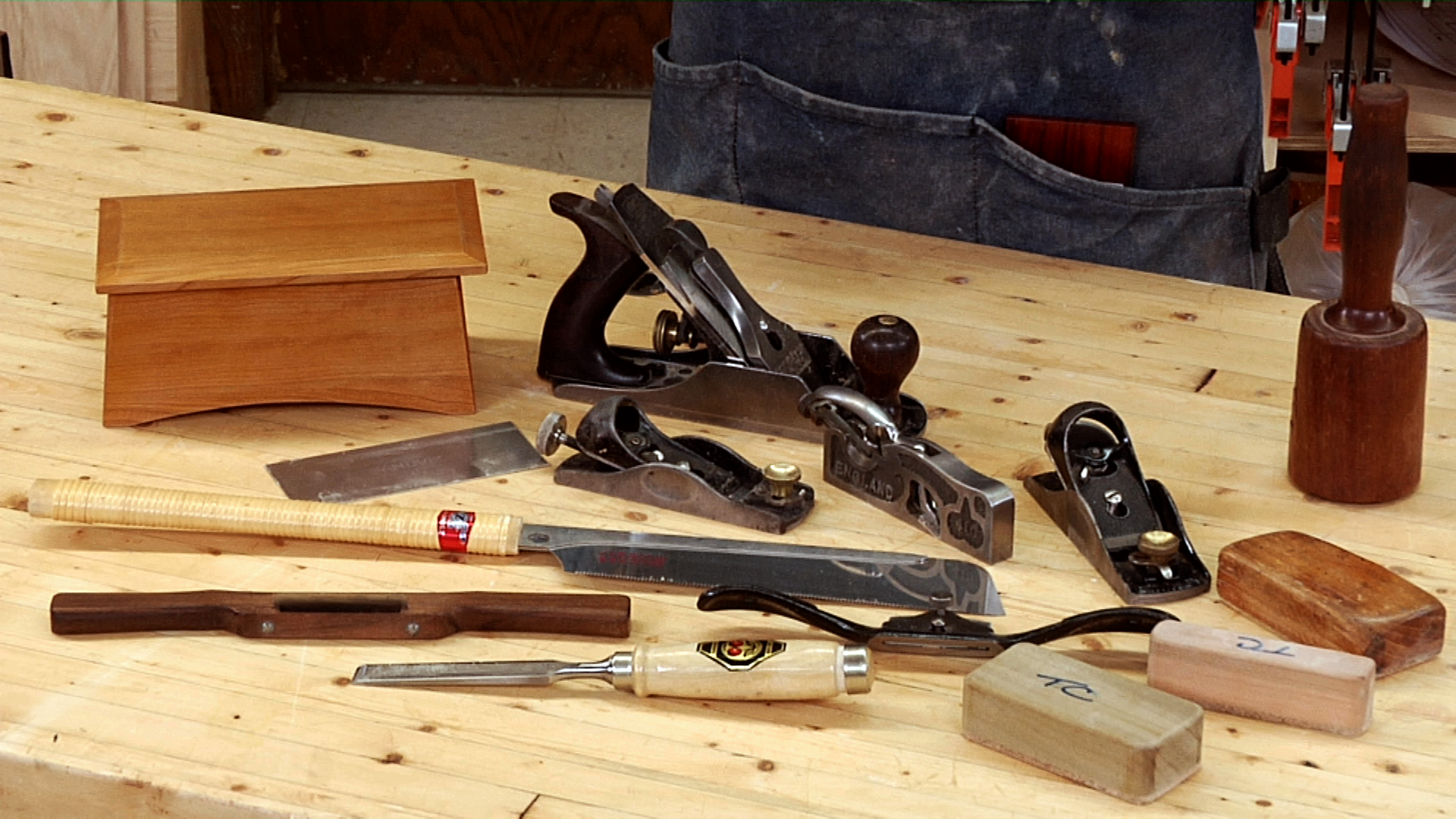 Fundamentals Of Hand Tools Class Dvd Woodworkers Guild Of America
