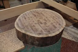 Flattened slab